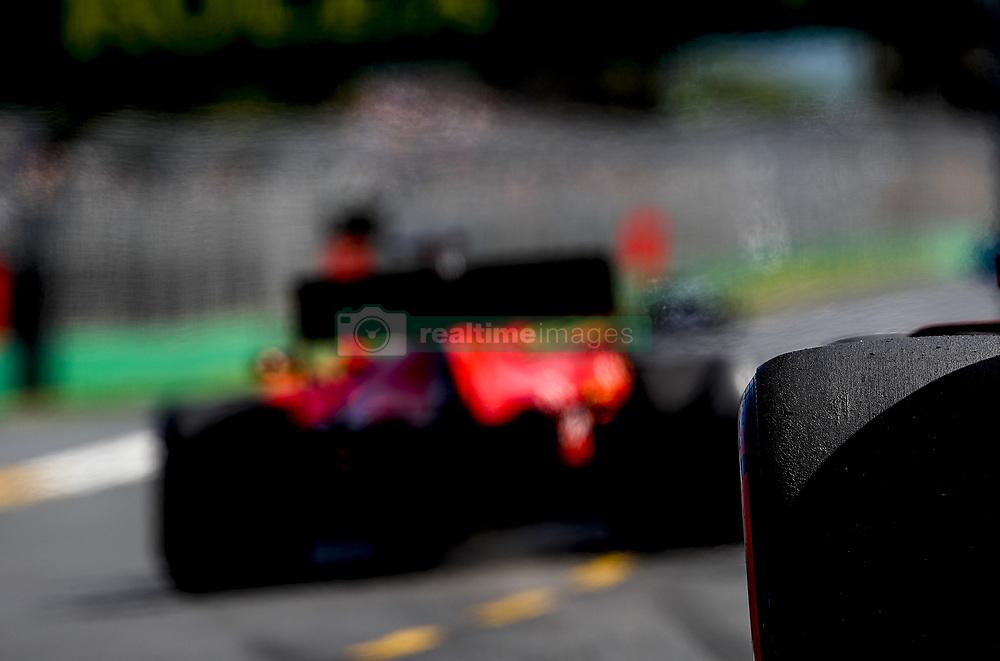 March 15, 2019 - Melbourne, Australia - Motorsports: FIA Formula One World Championship 2019, Grand Prix of Australia, ..Pirelli, tire, tires, tyre, tyres, wheel, wheels, Reifen, Rad, feature  (Credit Image: © Hoch Zwei via ZUMA Wire)