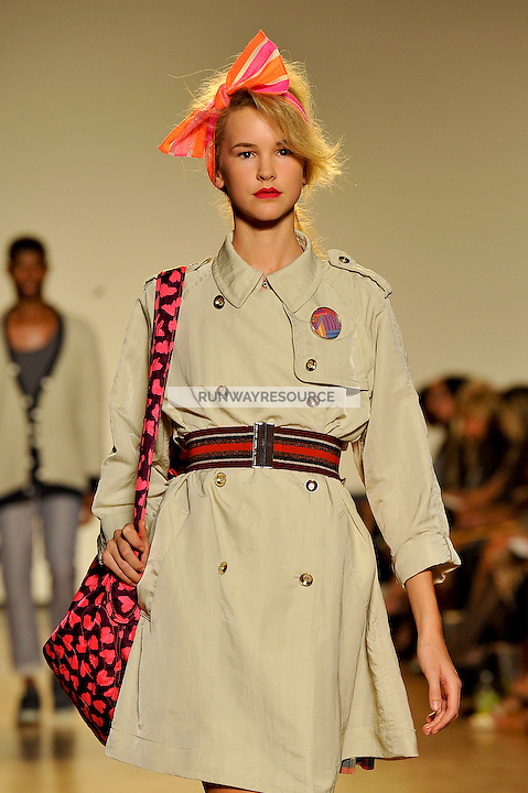 Taylor Kraemer walks the runway wearing Marc by Marc Jacobs Spring 2010 collection during New York Mercedes-Benz fashion week on September 15, 2009.