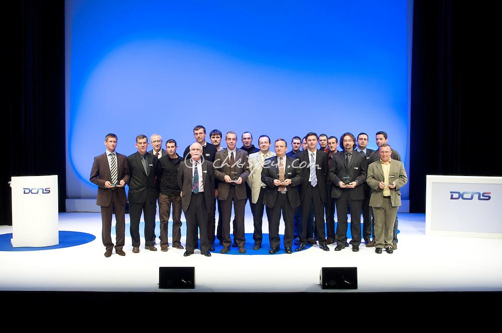 Remise des trophées 2008 à l'IMA