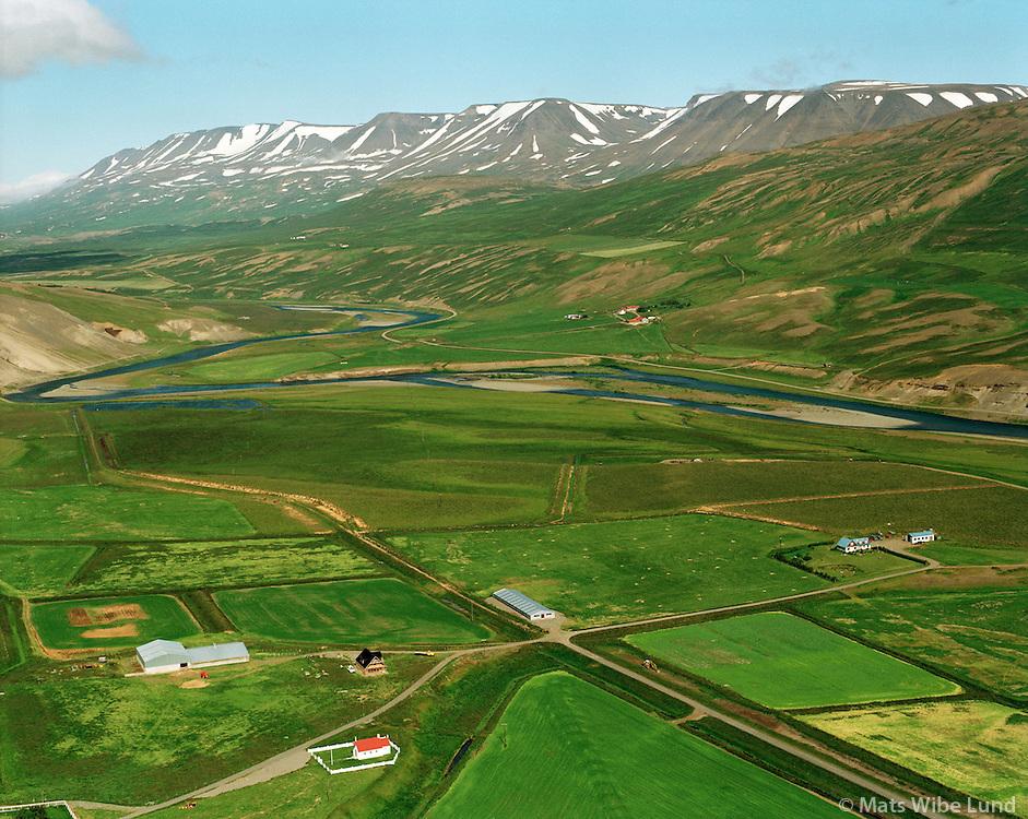 Draflastaðir og Hjarðarholt, Fnjóskadalur. Þingeyarsveit áður Hálshreppur / Draflastadir and Hjardarholt, Fnjoskadalur. Thingeyjarsveit former Halshreppur.