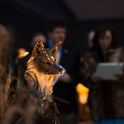 Fox Sculpture Dedication