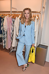Sarah Mikaela at launch of Bimba Y Lola, 295 Brompton Road, London England. 26 April 2018.