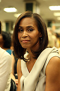 """Pamela Newkirk at the reading of ' Letters from Black America """" A Dramatic Reading with Editor Pamela Newkirk and actors Ruby Dee and Anthony Chisholm held at Barnes & Noble at 82nd Street on July 15, 2009 in New York City"""