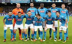A Napoli team group photo