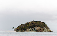 Tropical island in West Indies