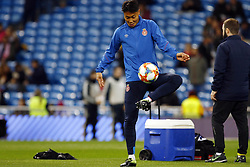 January 24, 2019 - Madrid, Madrid, Spain - Peak Seung-Ho seen warming up before the Copa del Rey Round of quarter-final first leg match between Real Madrid CF and Girona FC at the Santiago Bernabeu Stadium in Madrid, Spain. (Credit Image: © Manu Reino/SOPA Images via ZUMA Wire)