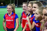 Bilthoven - SCHC - Oranje Rood Dames, Hoofdklasse Hockey Dames, Seizoen 2017-2018, 06-04-2018, SCHC - Oranje Rood 2-1, <br /> <br /> (c) Willem Vernes Fotografie