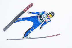 11.03.2018, Holmenkollen, Oslo, NOR, FIS Weltcup Ski Sprung, Raw Air, Oslo, im Bild Timi Zajc (SLO) // Timi Zajc of Slovenia during the 1st Stage of the Raw Air Series of FIS Ski Jumping World Cup at the Holmenkollen in Oslo, Norway on 2018/03/11. EXPA Pictures © 2018, PhotoCredit: EXPA/ JFK