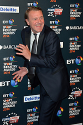Pictured is Phil Tufnell.<br /> <br /> BT Sport Industry Awards 2014 at Battersea Evolution, London, UK.<br /> <br /> Thursday, 8th May 2014. Picture by Ben Stevens / i-Images