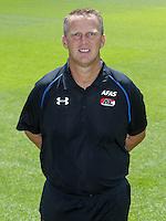 John van den Brom during the team photocall of AZ Alkmaar on July 17, 2015 at Afas Stadium in Alkmaar, The Netherlands