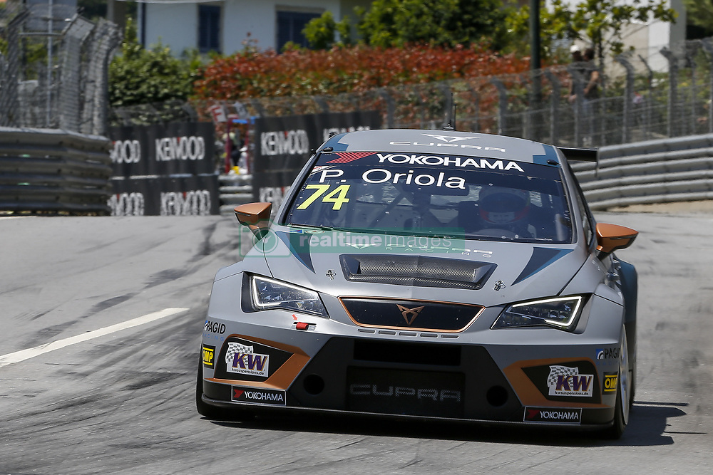June 23, 2018 - Vila Real, Vila Real, Portugal - Pepe Oriola from Spain in Cupra TCR of Team OSCARO by Campos Racing during the Race 1 of FIA WTCR 2018 World Touring Car Cup Race of Portugal, Vila Real, June 23, 2018. (Credit Image: © Dpi/NurPhoto via ZUMA Press)