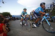 Miguel Angel Lopez (COL, Astana Pro Team) during the 73th Edition of the 2018 Tour of Spain, Vuelta Espana 2018, Stage 14 cycling race, Cistierna - Les Praeres Nava 171 km on September 8, 2018 in Spain - Photo Luca Bettini/ BettiniPhoto / ProSportsImages / DPPI