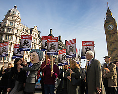 2017-03-13 Protest against PM Theresa May's attempt to stifle Parliamentary debate on Brexit.
