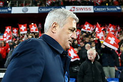 November 12, 2017 - Basel, Switzerland - Switzerland coach Vladimir Petkovic  during the FIFA 2018 World Cup Qualifier Play-Off: Second Leg between Switzerland and Northern Ireland at St. Jakob-Park on November 12, 2017 in Basel, Basel-Stadt. (Credit Image: © Matteo Ciambelli/NurPhoto via ZUMA Press)