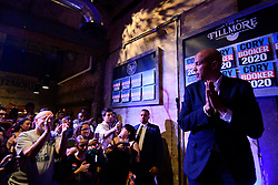 Sen. Cory Booker (D-NJ), Presidential hopeful for the US 2020 Elections holds a Philadelphia Rise rally at the Fillmore, in Philadelphia, PA., on August 7, 2019.