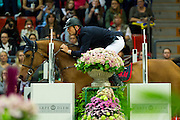 Peder Fredricson - H&M Cash In<br /> Rolex FEI World Cup Final 2013<br /> © DigiShots