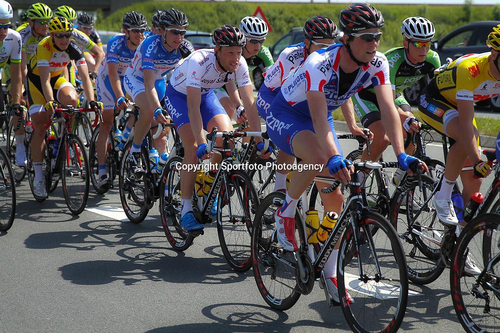 WIELRENNEN, Hoofddorp, Olympias tour