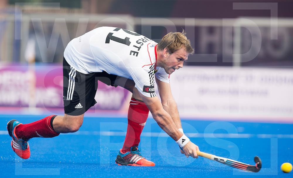 BHUBANESWAR  (INDIA) -   Argentina vs Germany on day 3 of the Hero Champions Trophy Hockey. Moritz Fürste of Germany\.  Photo KOEN SUYK