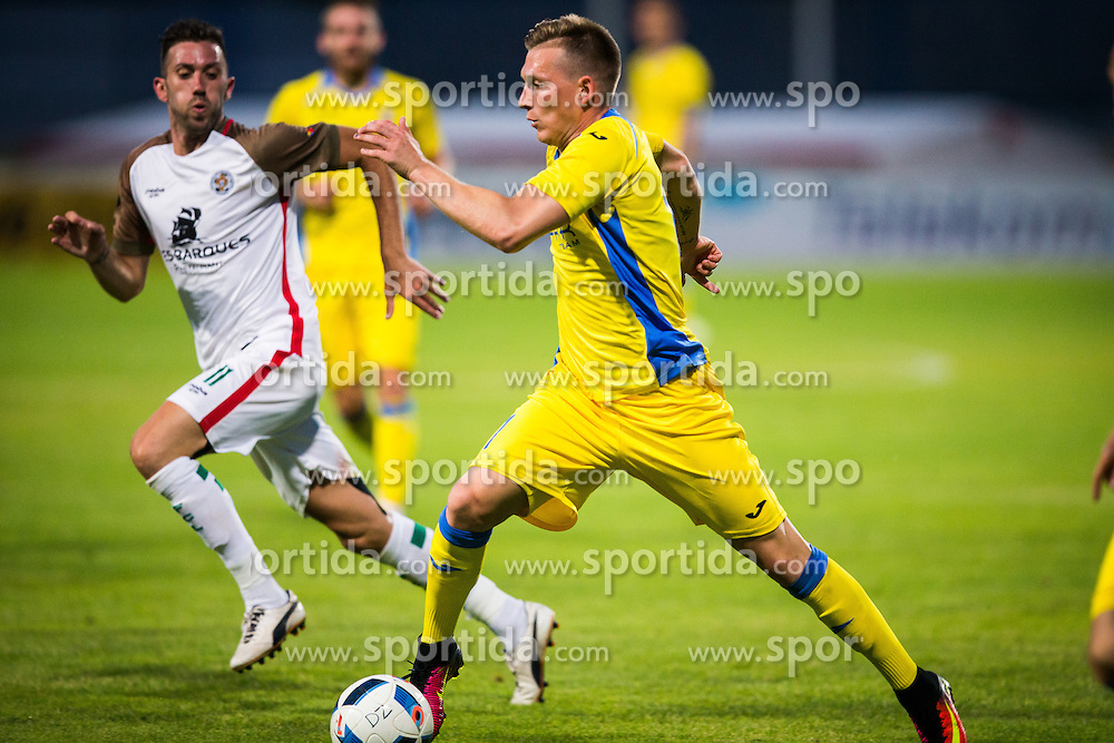 Matic Crnic of NK Domzale during football match between NK Domzale and FC Lusitanos Andorra in first match of UEFA Europa League Qualifications, on June 30, 2016 in Sports park Domzale, Domzale, Slovenia. Photo by Ziga Zupan / Sportida