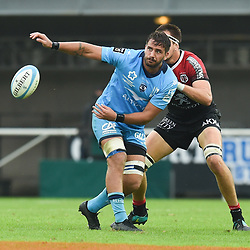Martin DEVERGIE of Montpellier during the Top 14 match between Montpellier and Toulouse on October 19, 2019 in Montpellier, France. (Photo by Alexandre Dimou/Icon Sport) - Martin DEVERGIE - Altrad Stadium - Montpellier (France)