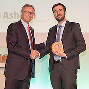 Winner: Patrick Walsh, Founder and CEO, Greenlight Planet The 2016 Ashden awards ceremony held at the Royal Geographical Society, London, UK. All image Use must be credited © Andrew Aitchison / Ashden