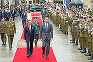 KING FELIPE AND LETIZIA VISIT LUXEMBURG