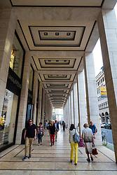 Upper Eastside shopping mall arcade on Friedrichstrasse in Mitte, Berlin, Germany