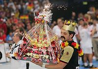 Håndball<br /> VM Tyskland<br /> 04.02.07<br /> Finale <br /> Tyskland - Polen<br /> Tyskland Verdensmester<br /> Kaptein Markus Baur<br /> DIGITALSPORT / NORWAY ONLY