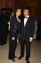 ANDY & PATTI WONG at a evening to celebrate the unveiling of the British Luxury Club at The Orangery, Kensington Palace, London W8 on 16th September 2004.<br /><br />NON EXCLUSIVE - WORLD RIGHTS