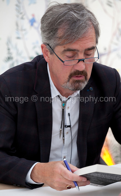 Novelist Sebastian Barry at the Dalkey Book Festival, Dalkey, County Dublin, Ireland, Thursday 15th June 2017. Photo credit: Doreen Kennedy