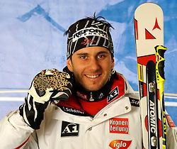 18.02.2011, Kandahar, Garmisch Partenkirchen, GER, FIS Alpin Ski WM 2011, GAP, Herren, Riesenslalom, im Bild bronze Medaille Philipp Schoerghofer (AUT) // bronze Medal Philipp Schoerghofer (AUT) during men's Giant Slalom Fis Alpine Ski World Championships in Garmisch Partenkirchen, Germany on 18/2/2011. EXPA Pictures © 2011, PhotoCredit: EXPA/ E. Spiess