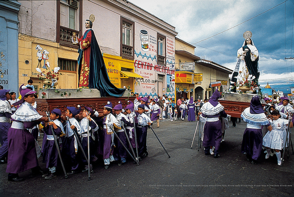 Holly Week in Guatemala city.