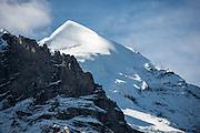 Schneebedeckte Silberhorn