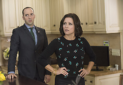 RELEASE DATE: 2012 - Season 5-6<br /> TITLE: Veep<br /> STUDIO: HBO<br /> DIRECTOR: Armando Iannucci<br /> PLOT: Former Senator Selina Meyer finds that being Vice President of the United States is nothing like she hoped and everything that everyone ever warned her about<br /> STARRING: Tony Hale, Julia Louis-Dreyfus<br /> (Credit: © HBO/Entertainment Pictures/ZUMAPRESS.com)
