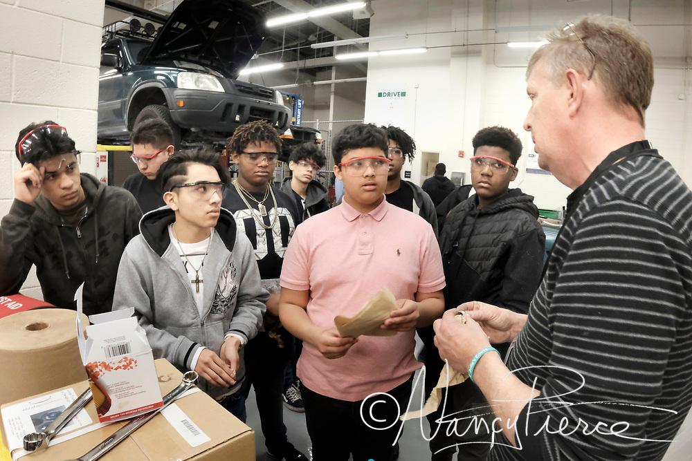 Harding University Institute of Technology Automotive Technology Lab