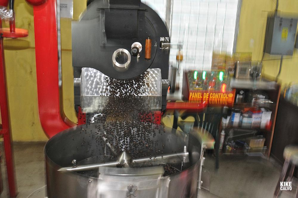Panamanian agroindustrial coffee factory ?Café Diamante S.A.?