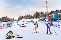 March 10, 2019 - –Stersund, Sweden - 190310 Hanna Öberg and Mona Brorsson of Sweden looks dejected after the Women's 10 km Pursuit during the IBU World Championships Biathlon on March 10, 2019 in Östersund..Photo: Petter Arvidson / BILDBYRÃ…N / kod PA / 92254 (Credit Image: © Petter Arvidson/Bildbyran via ZUMA Press)