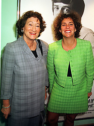 Left to right, BARONESS STERN and MS.TAMARA INGRAM CEO of Saatchi & Saatchi, at a reception in London on 2nd September 1999.MUU 24