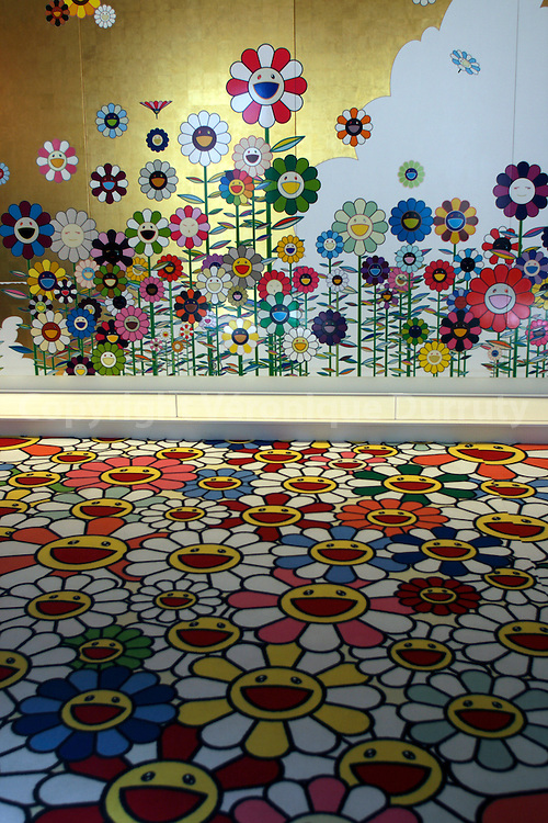 Takashi Murakami Exhibition At The Chateau De Versailles.