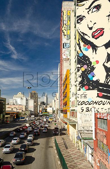 Avenida Prestes Maia, São Paulo - SP, 04/2013.