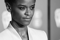 Letitia Wright attending 72nd British Academy Film Awards, Arrivals, Royal Albert Hall, London. 10th February 2019