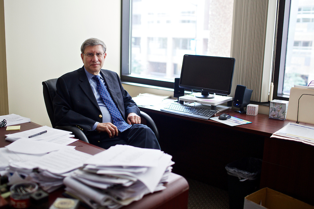 Bruce Freed, President of the Center for Political Accountability at his office in Washington, D.C. on May 23, 2013.