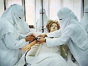 """Treatment"" by Amira Al Sharif. Nurses in  hospital in Sana'a, Yemen."