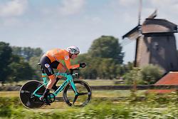 VAN EMDEN Jos from NETHERLANDS during Men Elite Time Trial at 2019 UEC European Road Championships, Alkmaar, The Netherlands, 8 August 2019. <br /> <br /> Photo by Pim Nijland / PelotonPhotos.com <br /> <br /> All photos usage must carry mandatory copyright credit (Peloton Photos | Pim Nijland)