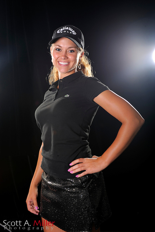 Kathleen Ekey during a portrait shoot prior to the LPGA Futures Tour's Daytona Beach Invitational at LPGA International's Championship Courser on March 29, 2011 in Daytona Beach, Florida... ©2011 Scott A. Miller