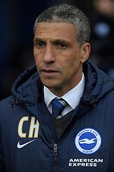 Brighton and Hove Albion Manager, Chris Hughton  - Photo mandatory by-line: Harry Trump/JMP - Mobile: 07966 386802 - 14/03/15 - SPORT - Football - Sky Bet Championship - Brighton v Wolves - Amex Stadium, Brighton, England.