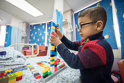 24 February 2020, Jerusalem: Palestinian child Murad is five years old. At the age of one, he was diagnosed and treated for Hepatoblastoma,  a rare malignant liver cancer occurring in infants and children. Today, he is at the Augusta Victoria Hospital in Jerusalem for a CT Scan and follow up.