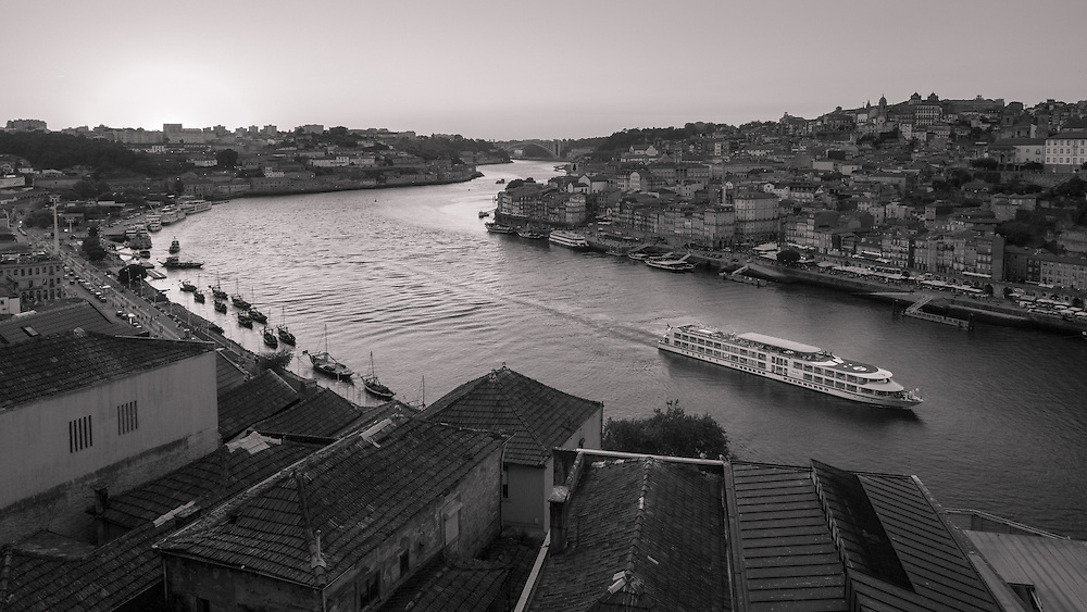 Porto is a coastal city in northwest Portugal known for its stately bridges and port wine production.
