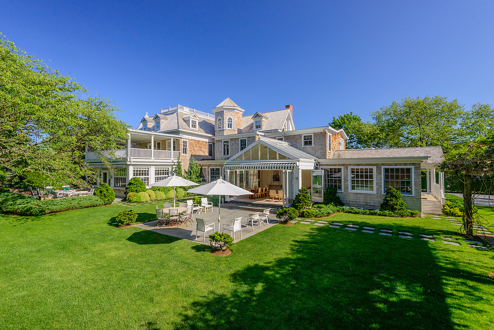 This architecturally important residence was originally built in 1895, First Neck Rd, Southampton, NY