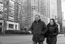 New York City street scene, 2015